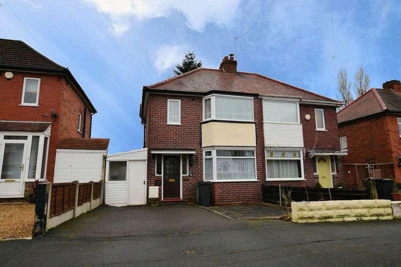 3 Bedrooms Semi Detached House for sale in Lyttleton Avenue, Halesowen