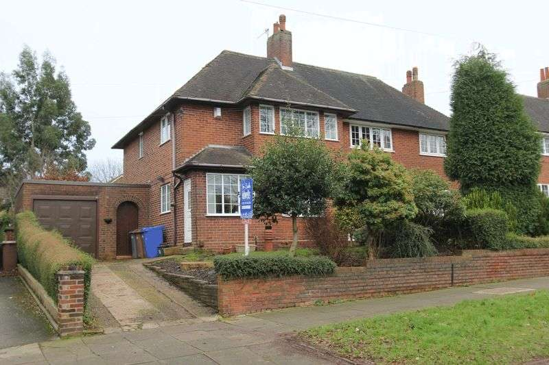 3 Bedrooms Semi Detached House for sale in Thistley Hough, Penkhull
