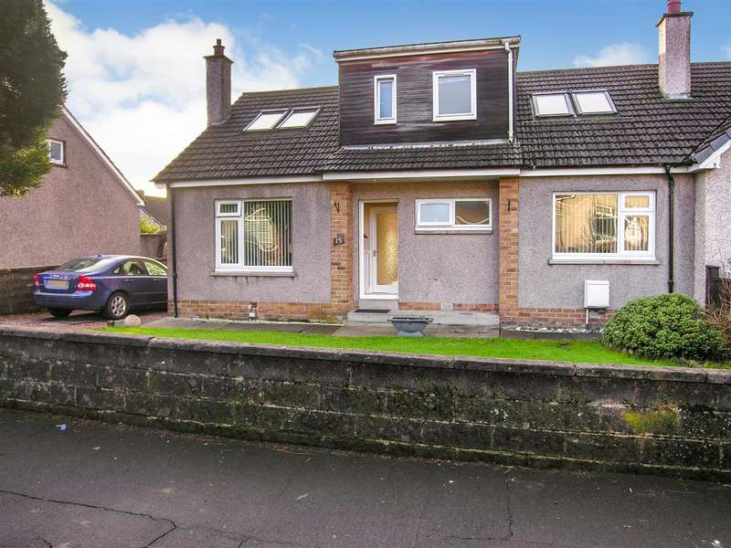4 Bedrooms Semi Detached Bungalow for sale in East Drive, Larbert