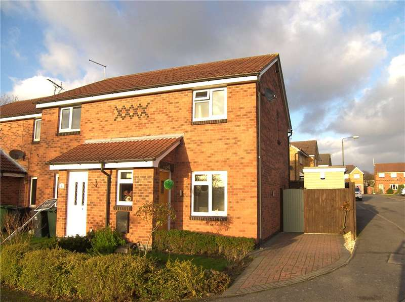 2 Bedrooms End Of Terrace House for sale in Walcote Close, Belper, Derbyshire, DE56