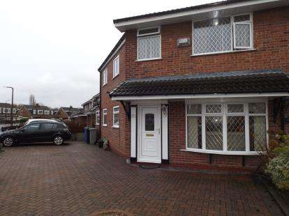 4 Bedrooms Semi Detached House for sale in Corfe Close, Urmston, Manchester, Uk