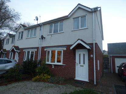 3 Bedrooms Semi Detached House for sale in Rhos Adda, Bangor, Gwynedd, LL57