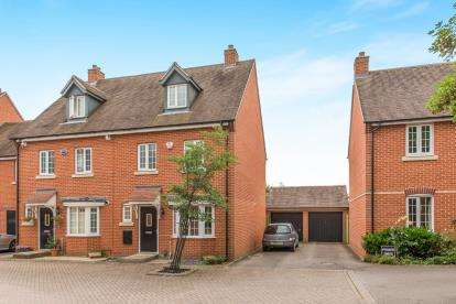 4 Bedrooms Detached House for sale in Medhurst Way, Littlemore, Oxford, Oxfordshire