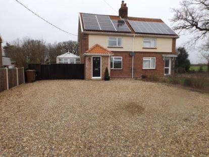3 Bedrooms Semi Detached House for sale in Spooner Row, Wymondham, Norfolk
