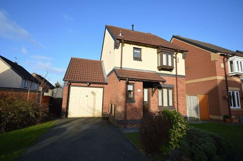3 Bedrooms Detached House for sale in Eastbury Close, Widnes