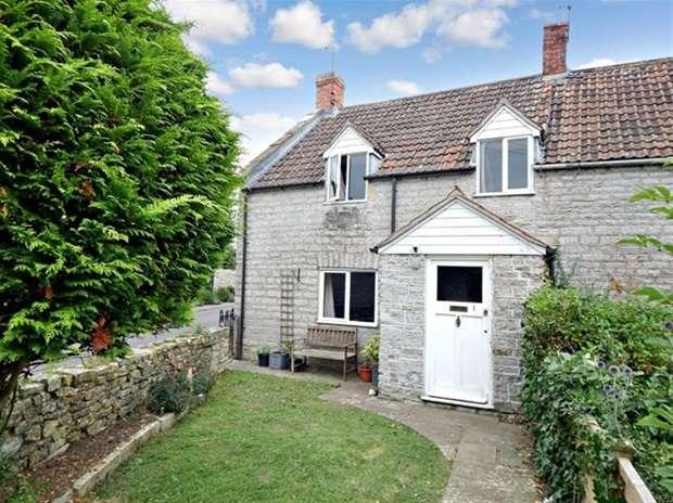 2 Bedrooms Terraced House for sale in Baker Street, Babcary, Somerton