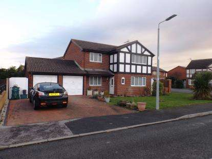 Detached House for sale in Llys Y Castell, Kinmel Bay, Rhyl, Conwy, LL18