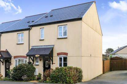 3 Bedrooms End Of Terrace House for sale in Bugle, St Austell, Cornwall