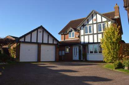 4 Bedrooms Detached House for sale in Holland Close, Streethay, Lichfield