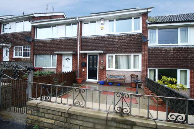 3 Bedrooms Terraced House for sale in Dawlish Close, Blackburn, Lancashire, BB2 4NS