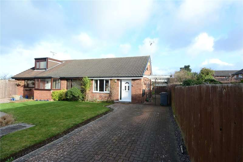 2 Bedrooms Semi Detached Bungalow for rent in Droitwich Avenue, Greasby, Wirral