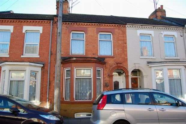 3 Bedrooms Terraced House for sale in Derby Road, Abington, Northampton NN1 4JJ