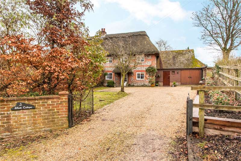3 Bedrooms Semi Detached House for sale in Station Hill, Itchen Abbas, Winchester, Hampshire, SO21