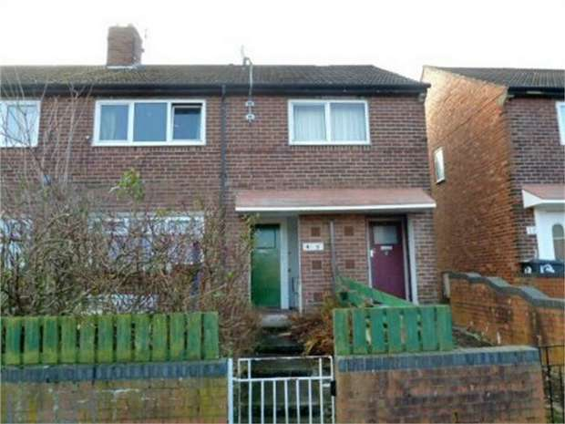 1 Bedroom Flat for sale in Palmer Crescent, Hebburn, Tyne and Wear