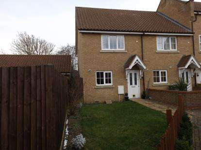 2 Bedrooms End Of Terrace House for sale in Wymondham, Norfolk