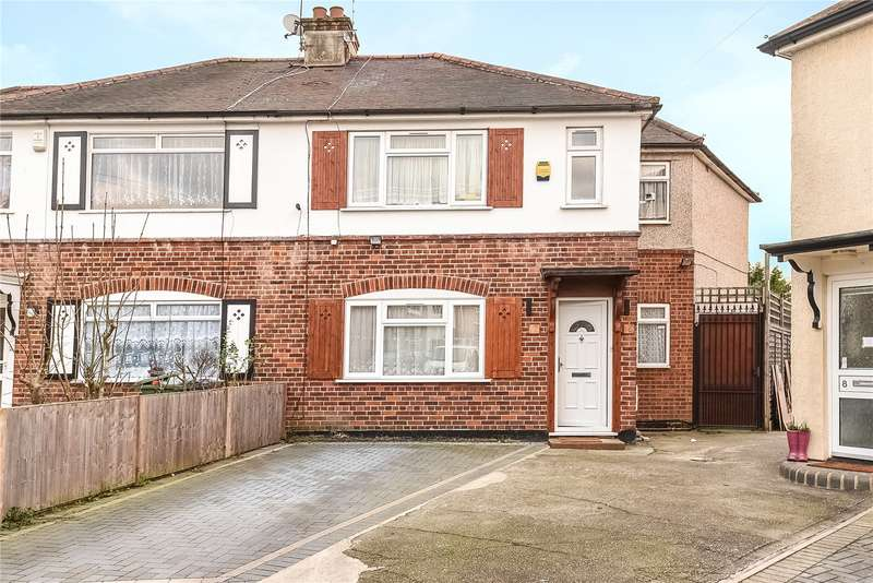 5 Bedrooms Semi Detached House for sale in Mead Close, Harrow, Middlesex, HA3