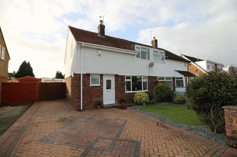 3 Bedrooms Semi Detached House for sale in Hillary Road, Eastham, Wirral