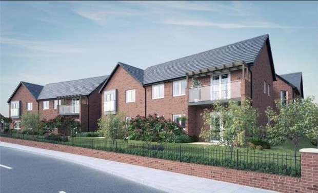 1 Bedroom Apartment Flat for sale in Burey Court Inglewhite Road, Longridge, Preston, PR3