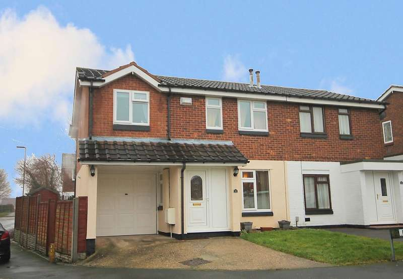 4 Bedrooms Semi Detached House for sale in Curlew, Wilnecote, Tamworth, B77 5PL
