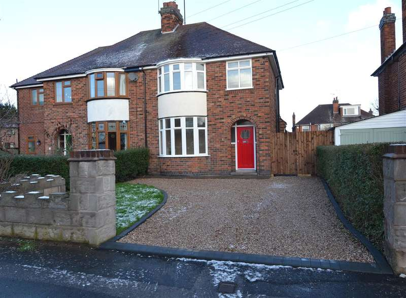 3 Bedrooms Semi Detached House for sale in Warwick Road, Stafford