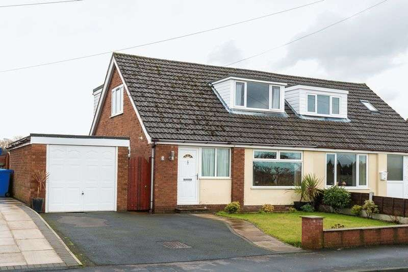 3 Bedrooms Semi Detached House for sale in Rookwood, Eccleston