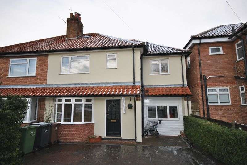 4 Bedrooms Semi Detached House for sale in Burma Road, Norwich