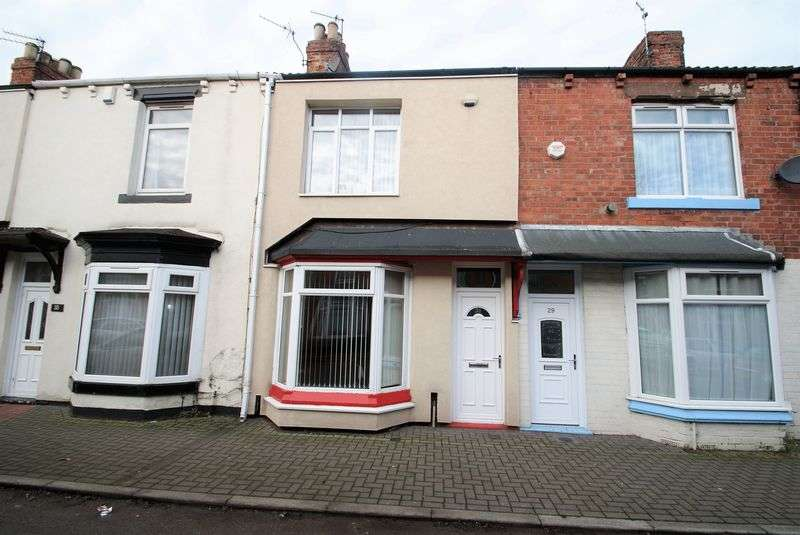 2 Bedrooms Terraced House for sale in Warwick Street, Middlesbrough
