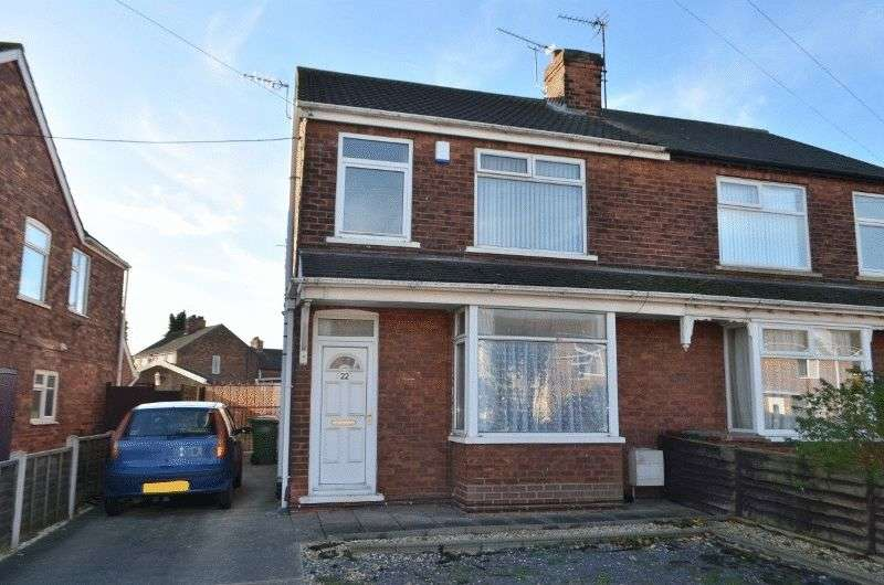 3 Bedrooms Semi Detached House for sale in West Common Crescent, Scunthorpe