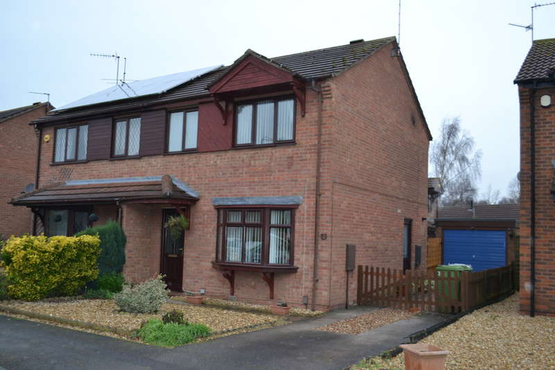 3 Bedrooms Semi Detached House for sale in Balderton, Heron Way