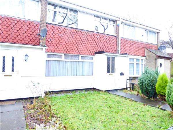 3 Bedrooms Terraced House for sale in Monmouth Road, Bartley Green, Birmingham