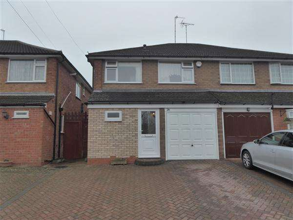 3 Bedrooms Semi Detached House for sale in Copse Close, Northfield, Birmingham