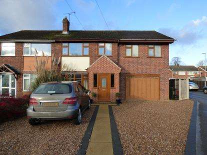 4 Bedrooms Semi Detached House for sale in Meadow Close, Stoney Stanton, Leicester, Leicestershire