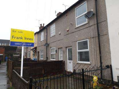 2 Bedrooms Terraced House for sale in George Street, Mansfield, Nottinghamshire