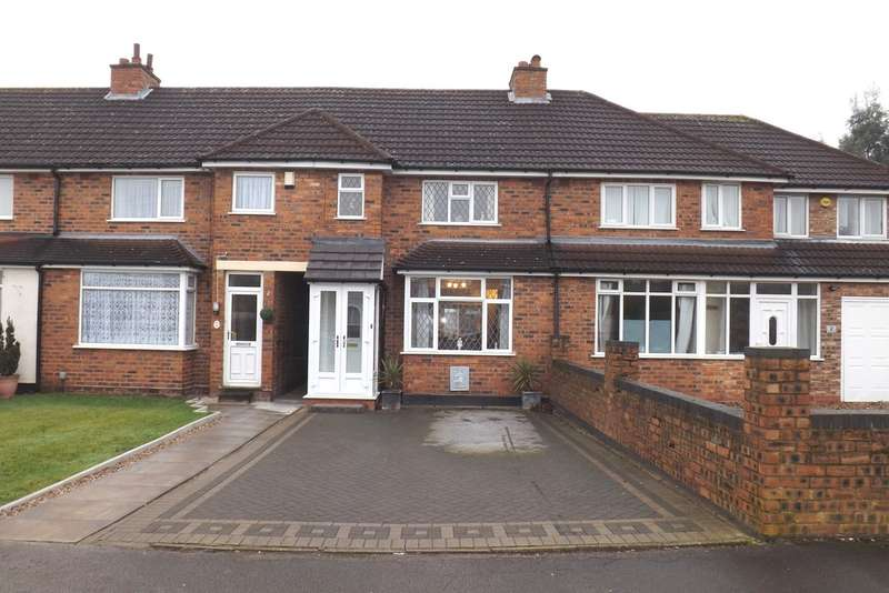 3 Bedrooms Terraced House for sale in Hardwick Road, Solihull