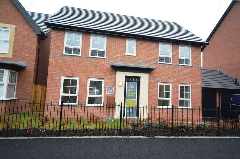 4 Bedrooms Detached House for sale in Rees Way, Telford