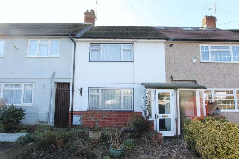 2 Bedrooms Terraced House for sale in Huntingdon Gardens, Worcester Park