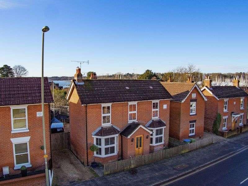 4 Bedrooms Detached House for sale in Bridge Road, Lower Swanwick