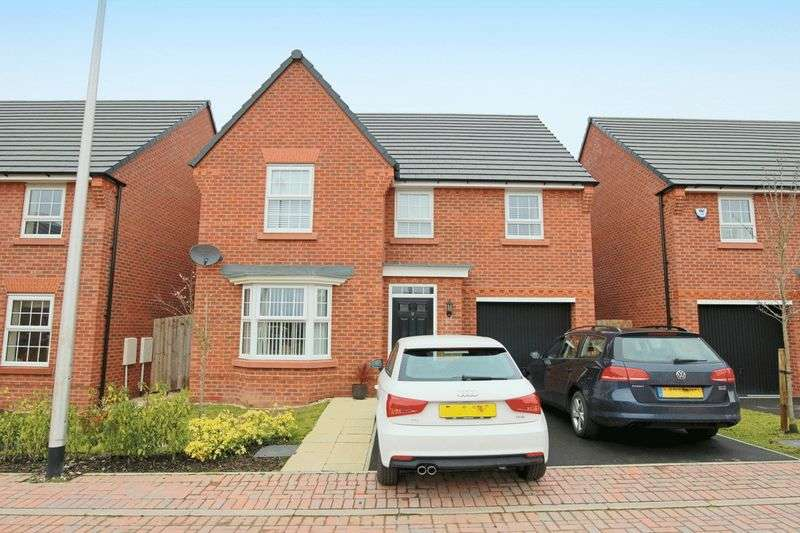 4 Bedrooms Detached House for sale in Stargrass Close, Nantwich