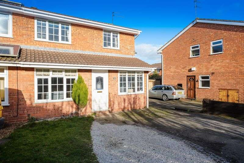 3 Bedrooms Semi Detached House for sale in Worcester Grove, Perton, Wolverhampton