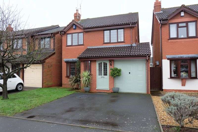 4 Bedrooms Detached House for sale in Great Western Way, Stourport-On-Severn DY13 8AG