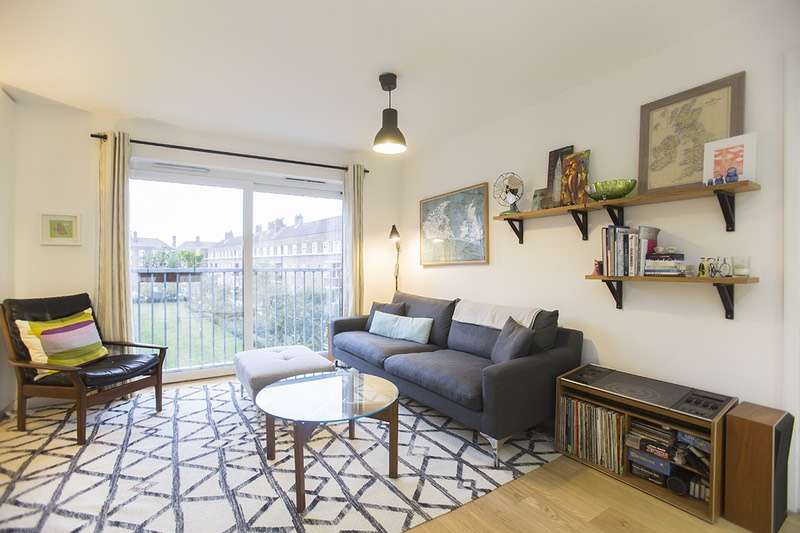 2 Bedrooms Flat for sale in Cresset Road, London, London, E9
