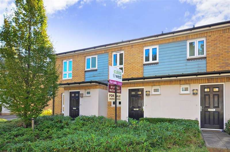 2 Bedrooms Terraced House for sale in Siena Drive, Pound Hill, Crawley, West Sussex