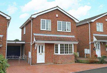 3 Bedrooms Link Detached House for sale in Salcey Square, Chesterfield, Derbyshire