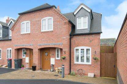 2 Bedrooms End Of Terrace House for sale in Wheelwright Cottages, Coleshill, Birmingham, West Midlands