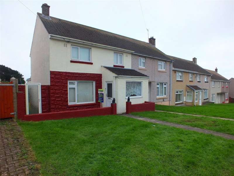 3 Bedrooms End Of Terrace House for sale in Croft Avenue, Hakin, Milford Haven