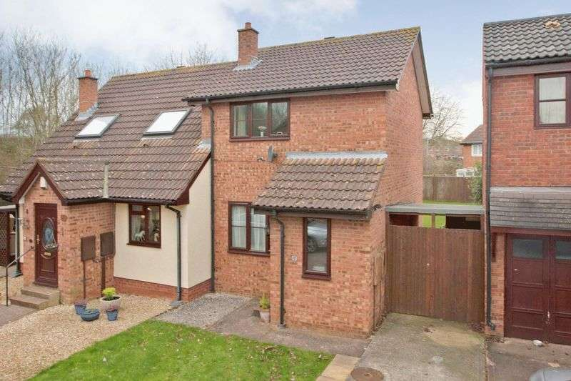 2 Bedrooms Semi Detached House for sale in HOLWAY FARM