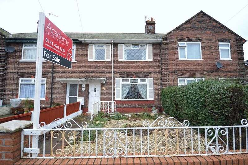 3 Bedrooms Terraced House for sale in Milton Road, Widnes