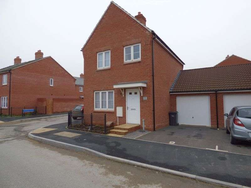 3 Bedrooms Detached House for sale in Wendling Road Kingsway, Gloucester