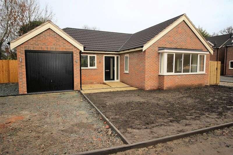 3 Bedrooms Detached Bungalow for sale in School Lane, Shrewsbury