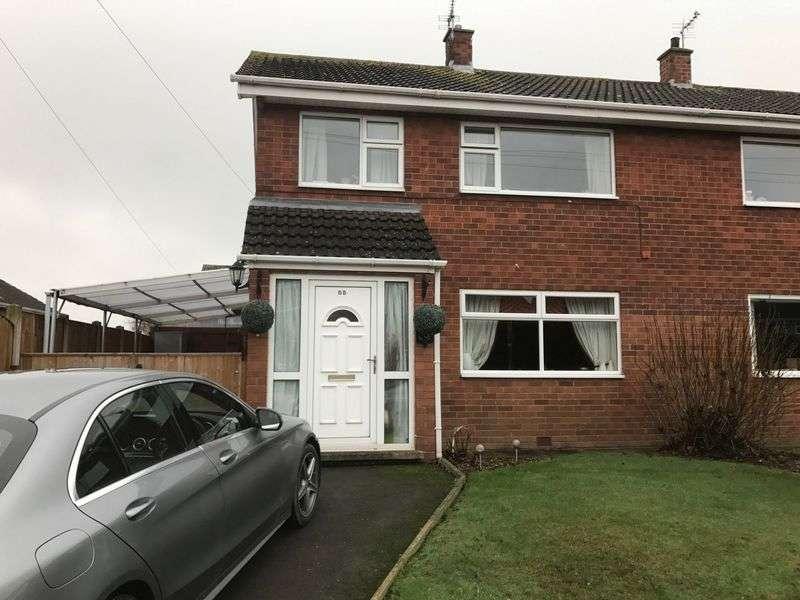 3 Bedrooms Semi Detached House for sale in 55 Westbury Road, Shrewsbury